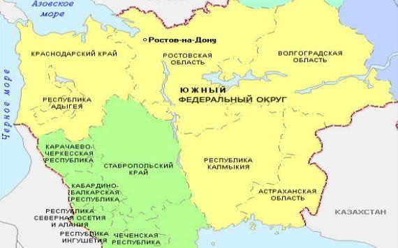 Карты Юга России 19 Века