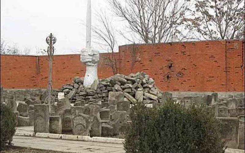 Грозный, мемориал, геноцид, депортация, сталин