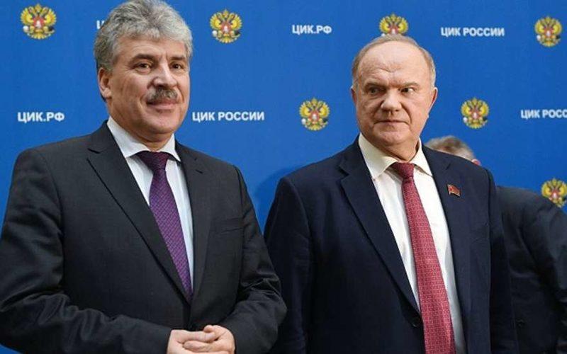 Подсчет КПРФ подтверждает победу В.Путина повсей Российской Федерации — Зюганов