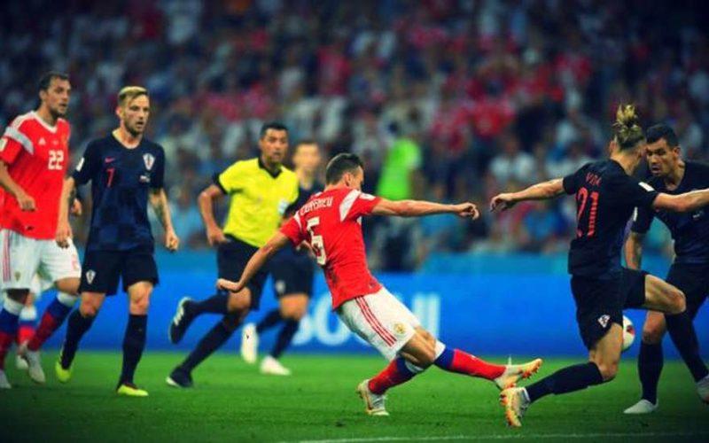 Россия – Хорватия 2:2: обзор матча, голы и лучшие моменты