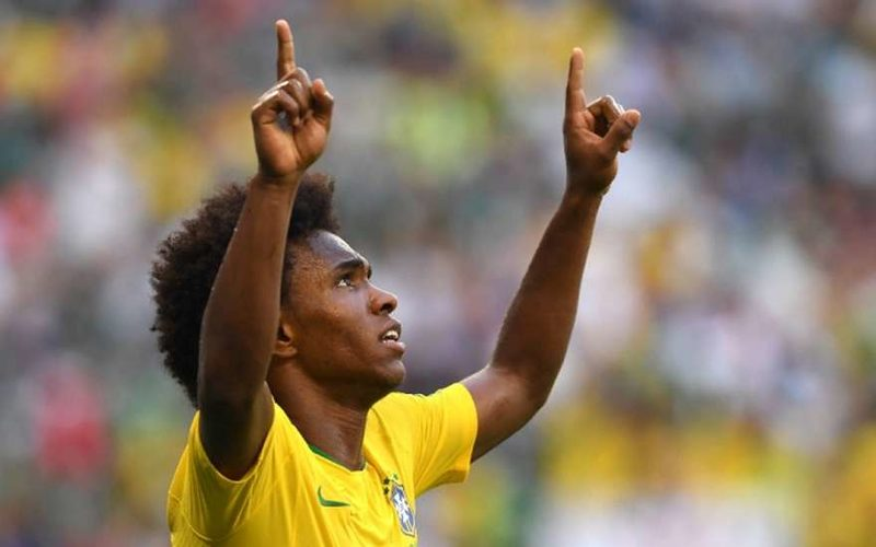 Бразильский футболист