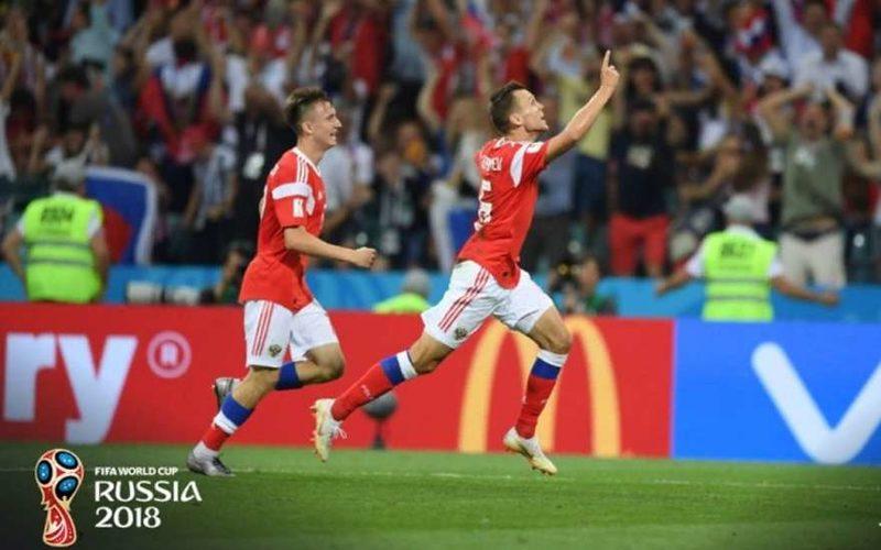 Черышев забивает гол