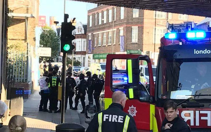 Взрыв в Лондоне 2017: взрыв в метро сейчас, сегодня 15 сентября 2017