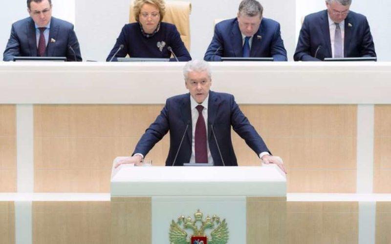 Действующий мэр Москвы Сергей Собянин