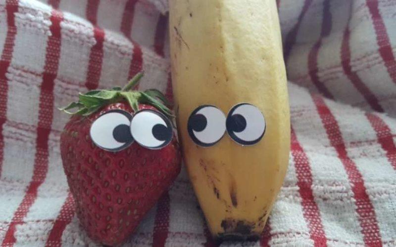клубничка и банан
