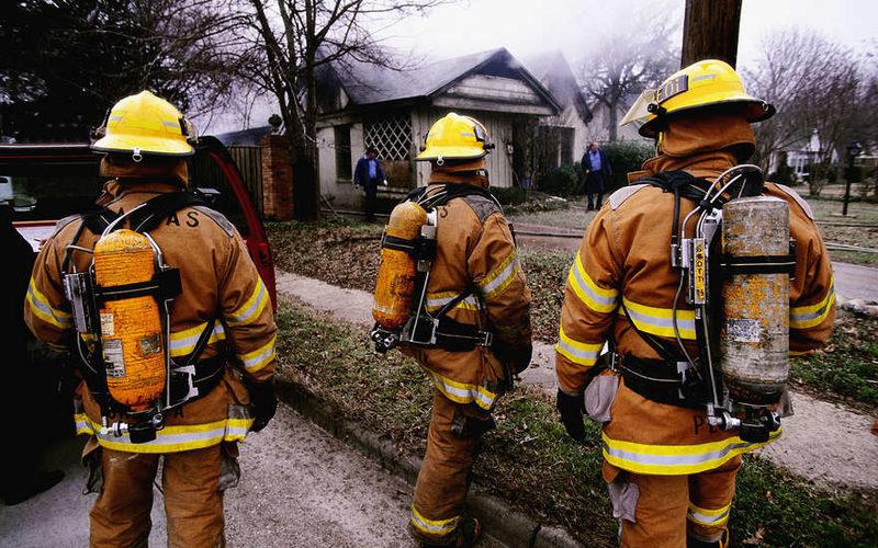 В результате пожара на Тверской улице пострадали четыре человека