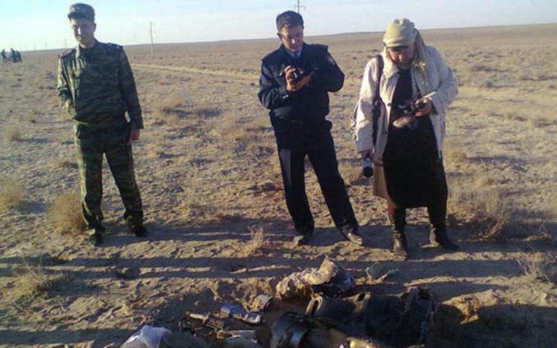 В Кызылодинской области в 3 км от села обнаружены предметы, похожие на обломки космического летательного аппарата