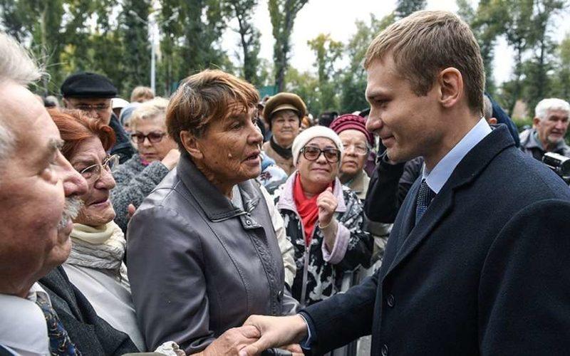 Валентин Коновалов - кандидат от КПРФ