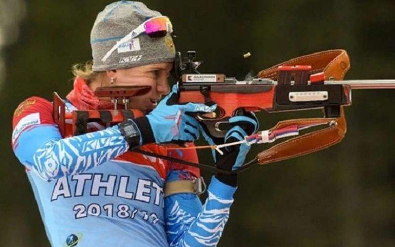 Биатлонистка сборной России
