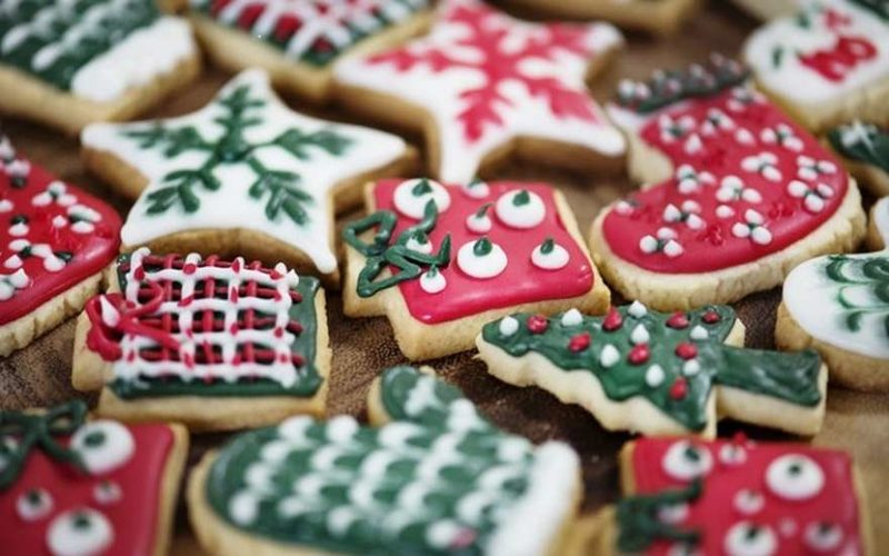Имбирное печенье на Новый год 2019