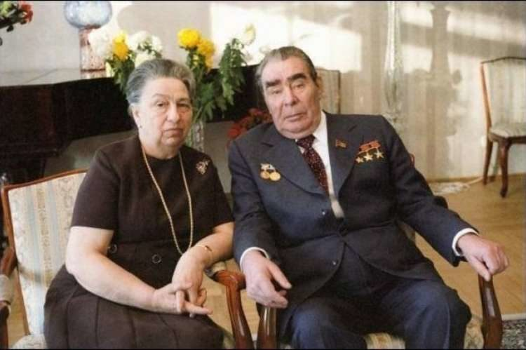 жена Брежнева еврейка