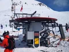 Авария на горнолыжном курорте в Грузии