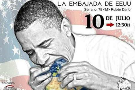 Обама пожирает весь мир