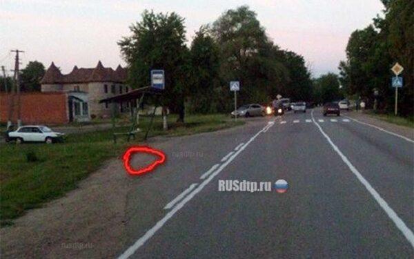 Место смертельной аварии в Краснодарском крае