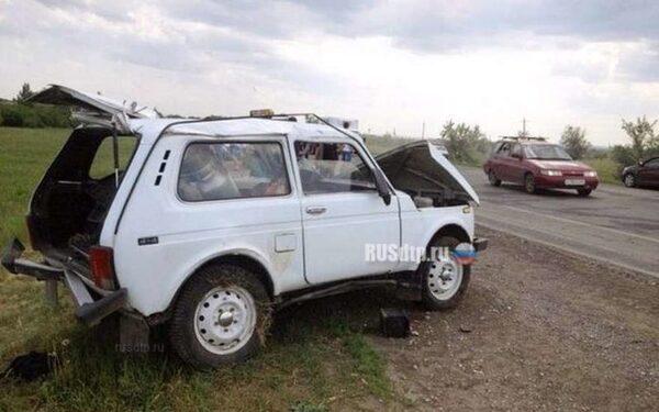 Место смертельной аварии в Саратове