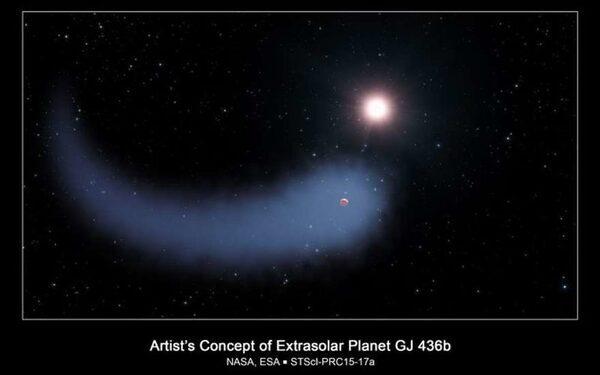Экзопланету Gliese 436 b окутало водородное облако