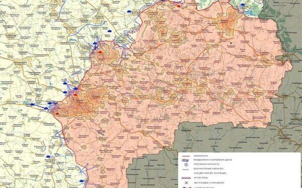 карта боевых действий, обстановка в Донецке, Мариуполе, Широкино