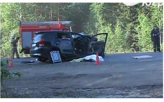 пять человек погибли из-за столкновения иномарок в Советском районе, Ханты-Мансийск, трасса Югра