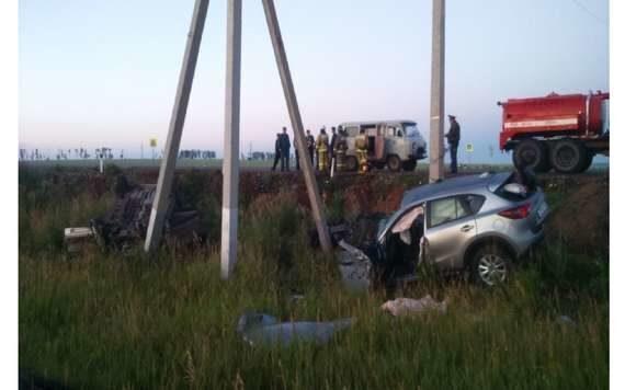 В Татарстане в Новошешминском районе в ДТП погибли 4 человека