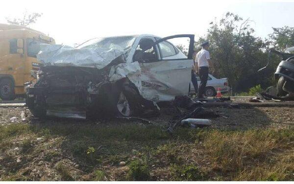ДТП в Краснодарском крае, в станице Васюринская, погибло 5 человек