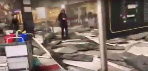 взрывы в аэропорту Брюсселя 22 03 2016