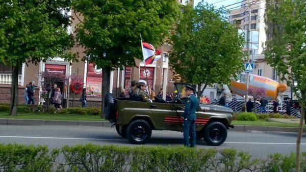 День Победы 2016 в Москве