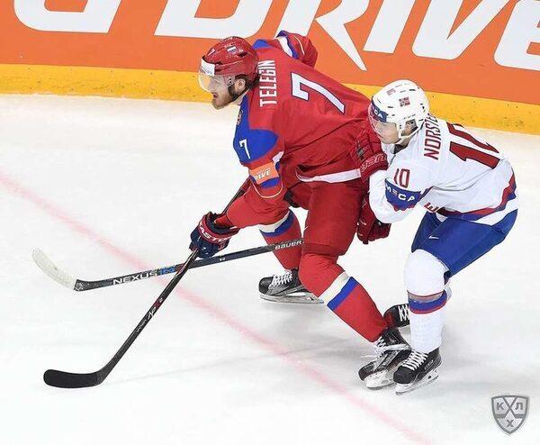 матч сборных России и Норвегии