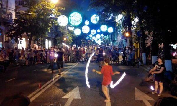 мероприятия на улицу во время «Ночи музеев»