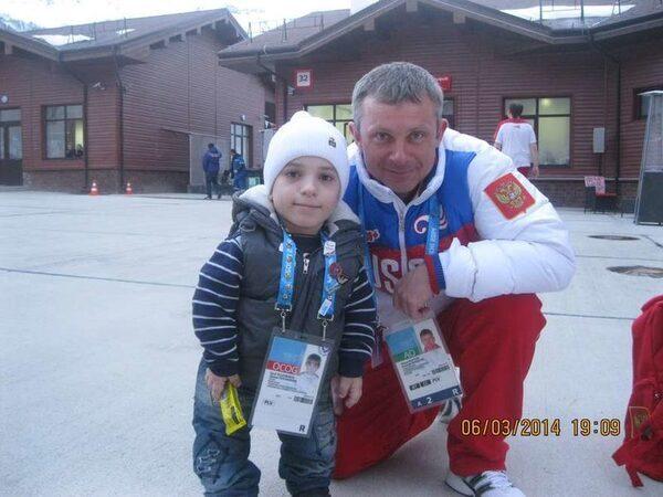 Данил Плужников на Олимпиаде в Сочи