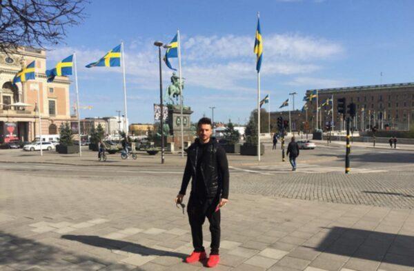 Сергей Лазарев упал на репетиции конкурса