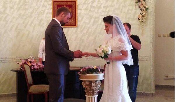 Анна Хохлова свадьба