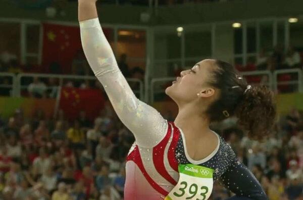 американская гимнастка