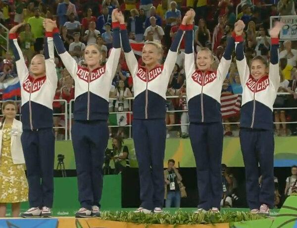 российская команда гимнасток