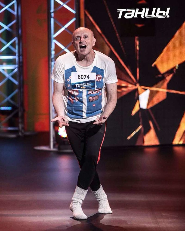 55-летний участник шоу Танцы