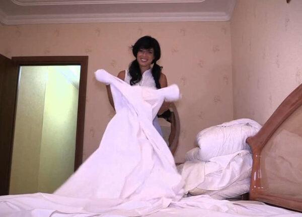 команда Ревизорро в гостинице