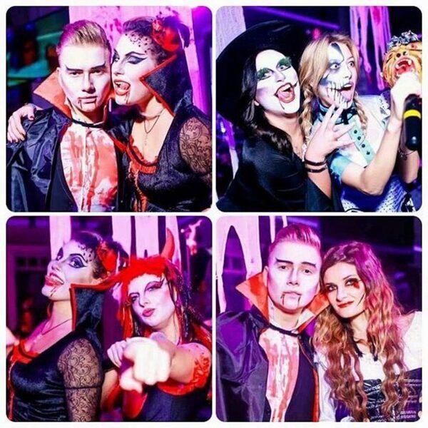 грим и костюмы для Хэллоуина