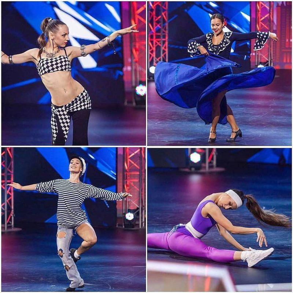 участники шоу Танцы