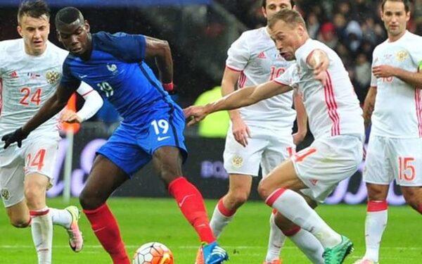 Россия-Франция, футбол