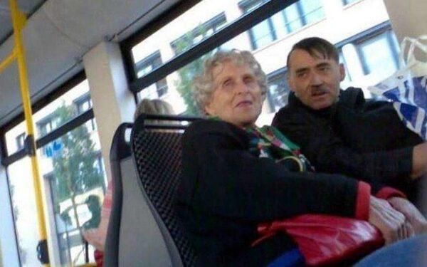 люди в автобусе