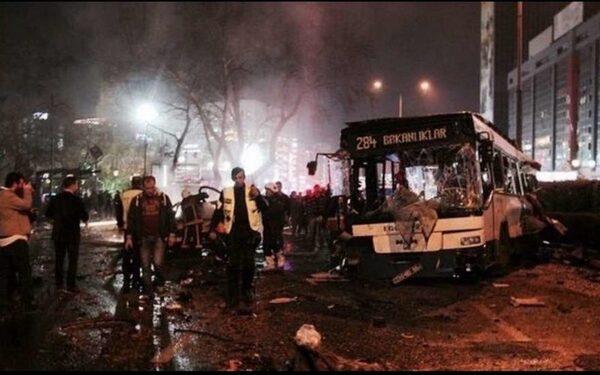 Теракт в Анкаре 13 03 2016, видео, подробности