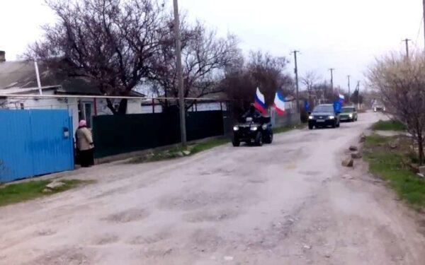 Автопробег в Крыму 18 03 16 видео