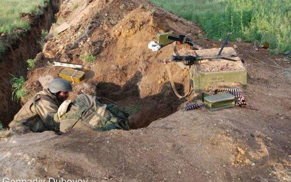 "Бойцы батальона ""Викинг"" на позициях - бои за Донбасс"