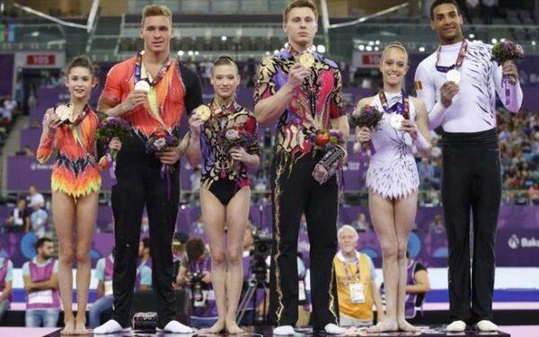 Европейские игры в Баку - девятый день принес сборной России 11 золотых медалей