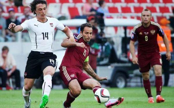 Футбольный матч Россия-Австрия закончился поражением российской сборной