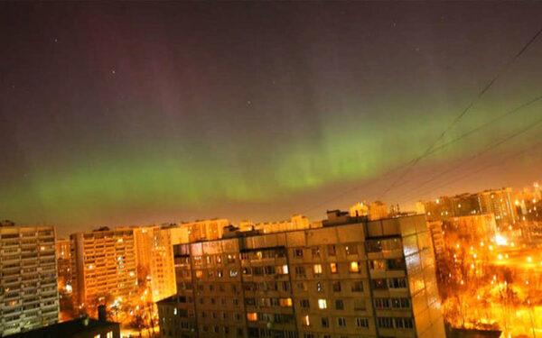 Новости Москвы сегодня 23 06 2015: северное сияние в Москве
