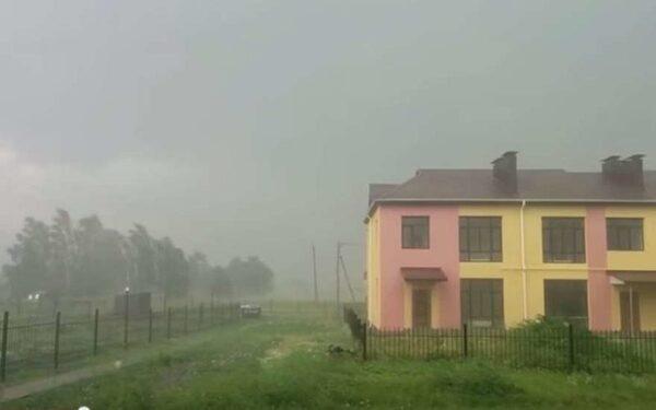 Ураган в Брянской области