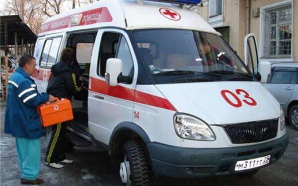 на Лиговском проспекте автобус сбил пенсионерку, переходившую дорогу в неположенном месте