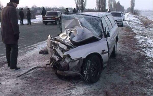 В страшной аварии в Омском районе погибла пассажирка Daewoo Matiz