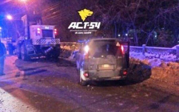 Молодой водитель на «Тойоте» влетел в грейдер и погиб