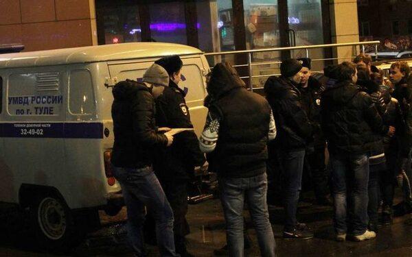 В Туле предотвращена массовая драка подростков